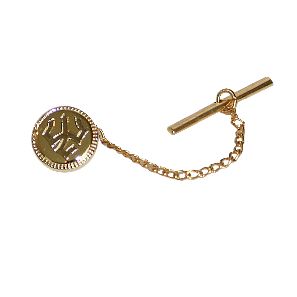 Jack Christopher Tie Tack, Gold Plated