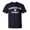 Trident and Wordmark Tee, Navy