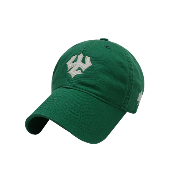 Legacy Trident Hat with Shamrock, Kelly Green