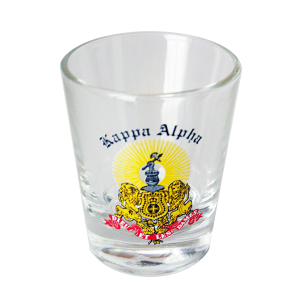 Kappa Alpha Shot Glass