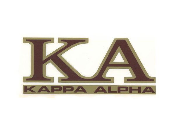 Kappa Alpha Decal