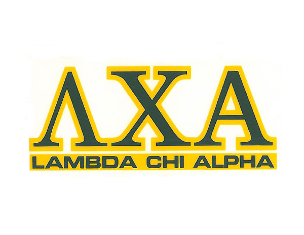 Lambda Chi Alpha Decal