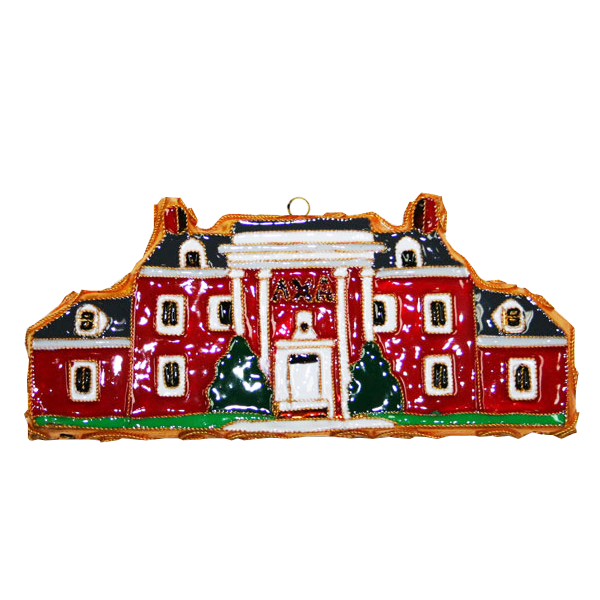 Kitty Keller Lambda Chi Alpha House Ornament