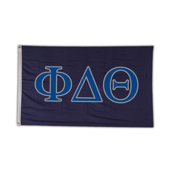 Phi Delta Theta Letter Flag