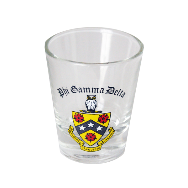 Phi Gamma Delta Shot Glass