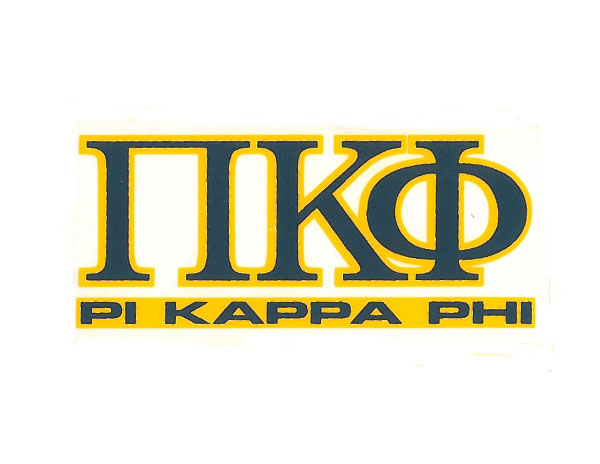 Pi Kappa Phi Decal