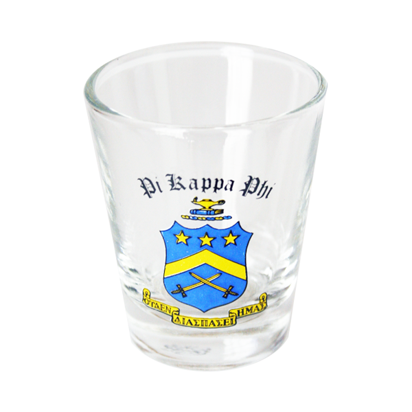 Pi Kappa Phi Shot Glass