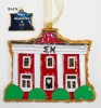 Kitty Keller Sigma Chi House Ornament thumbnail