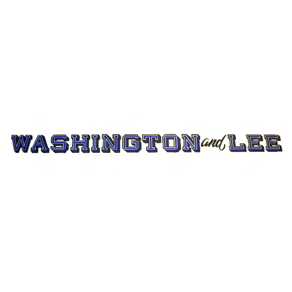 Washington and Lee Decal, Inside