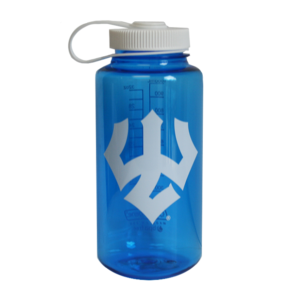 Nalgene with Trident, Blue