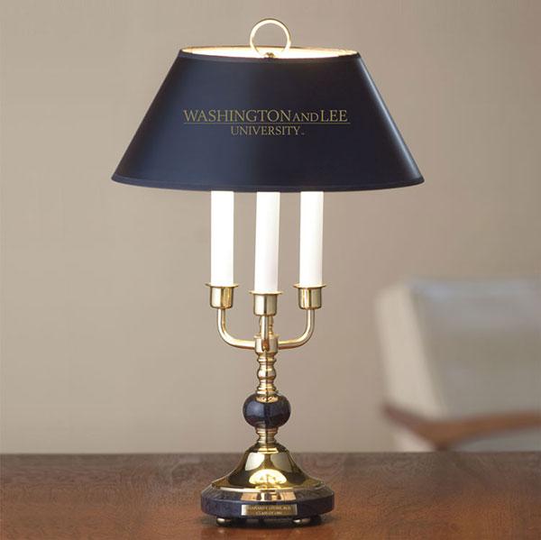 M La Hart Marble Lamp