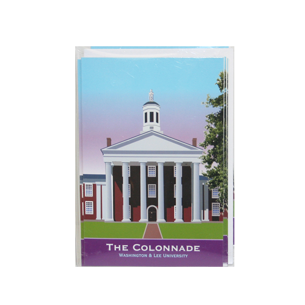 Contemporary Graphic Colonnade Note Cards