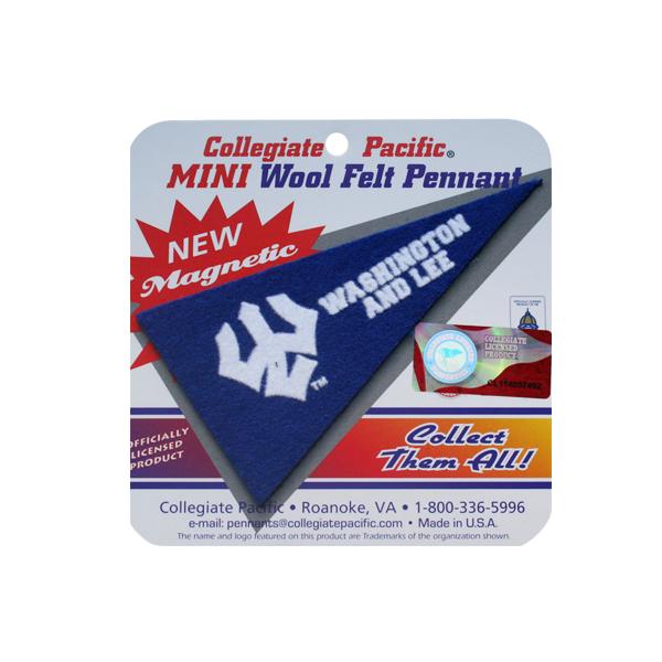 Mini Wool Felt Trident Pennant Magnet