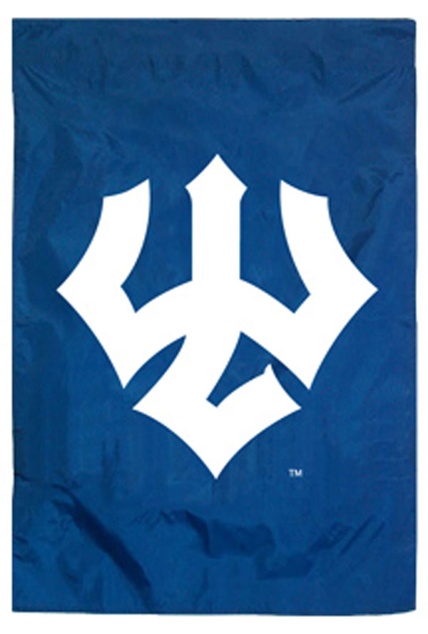 Vertical Trident Home Banner, Royal or Navy