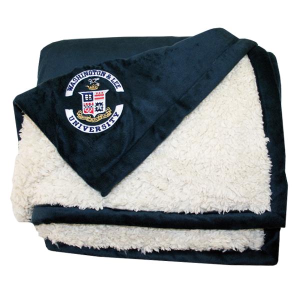 Alpaca Blanket with Crest