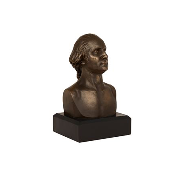 George Washington Bust, Bronze