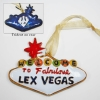 Kitty Keller Cloisonne Lex Vegas Ornament thumbnail
