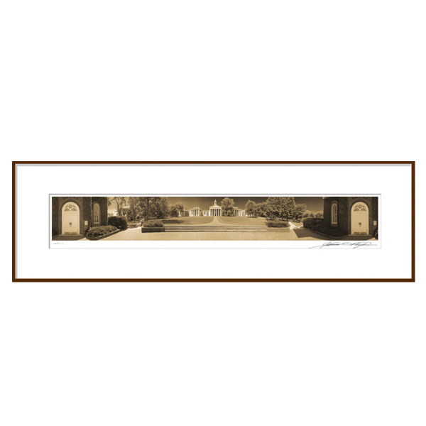 Phelps 360° Framed Panorama: The Colonnade from Lee Chapel