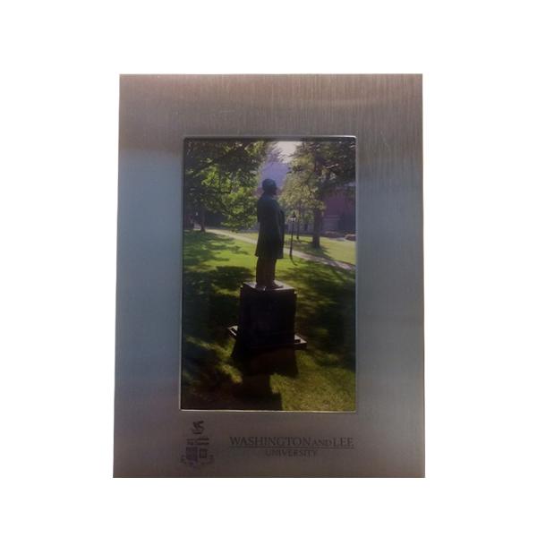 4x6 Silver Frame, Crest