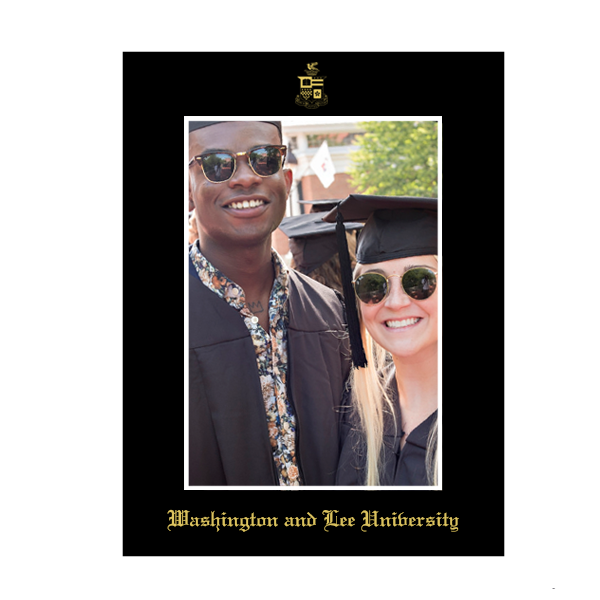 Graduation Photo Mat with Crest 8x10
