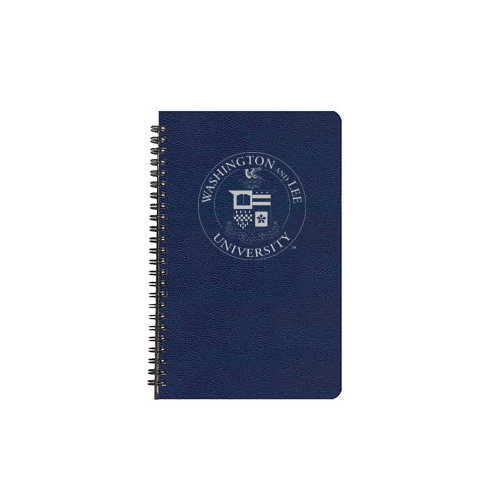 Weekly Planner w/Crest, Navy or Black
