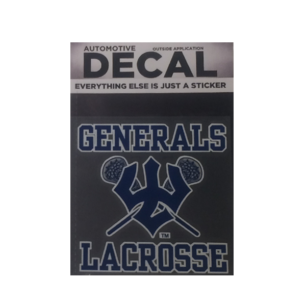 Lacrosse Decal