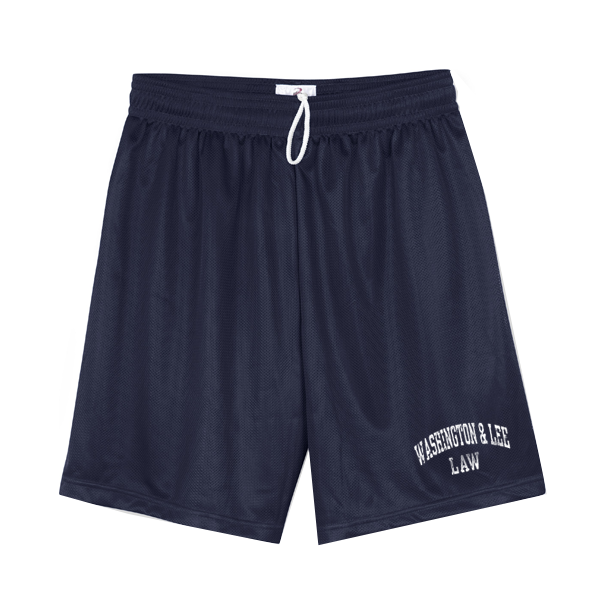 Law Mesh Short, Navy