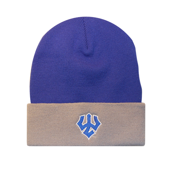 Beanie with Trident, Royal