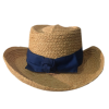Raffia Gambler Straw Hat thumbnail