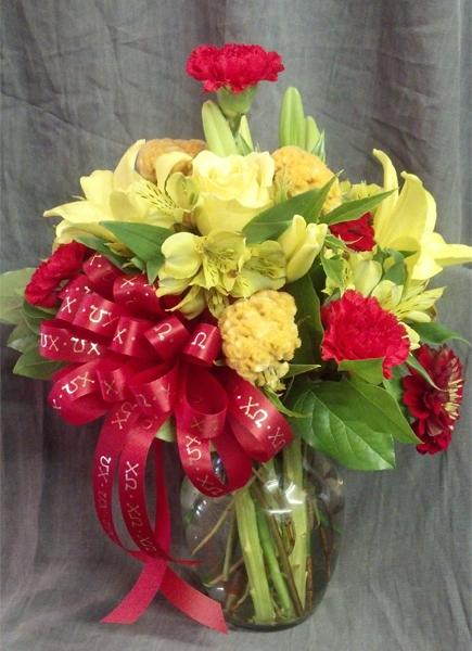 Chi Omega Floral Arrangement