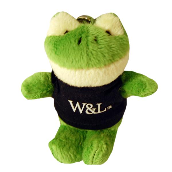 Plush Frog Keychain