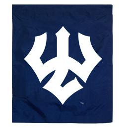 Trident Garden Flag, Navy