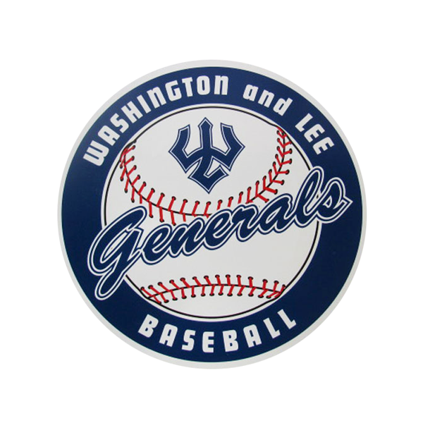 Dizzler Baseball Decal, Small