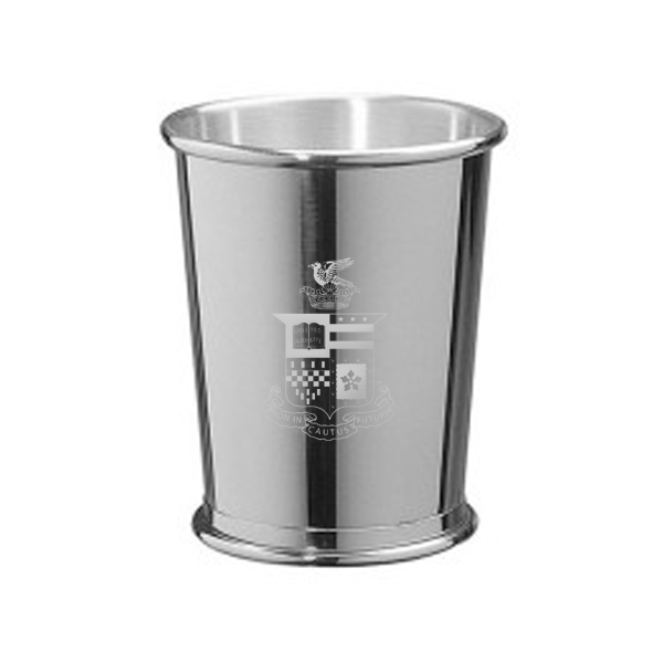 Salisbury Pewter Julep Cup, Crest