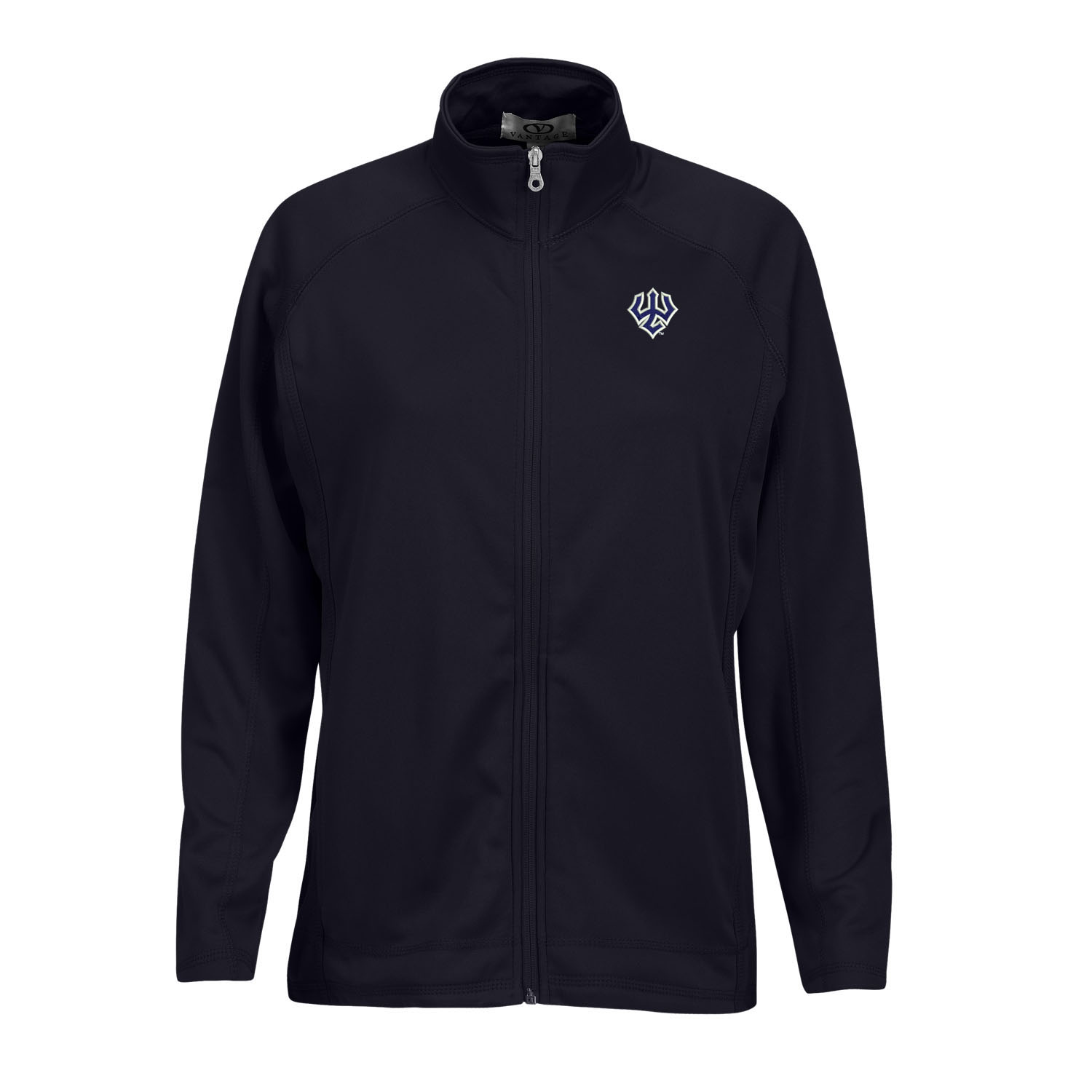 Full Zip Fleece Jacket, Navy