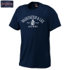 3X Jansport Short Sleeve Alumni Tee with Crest, Navy