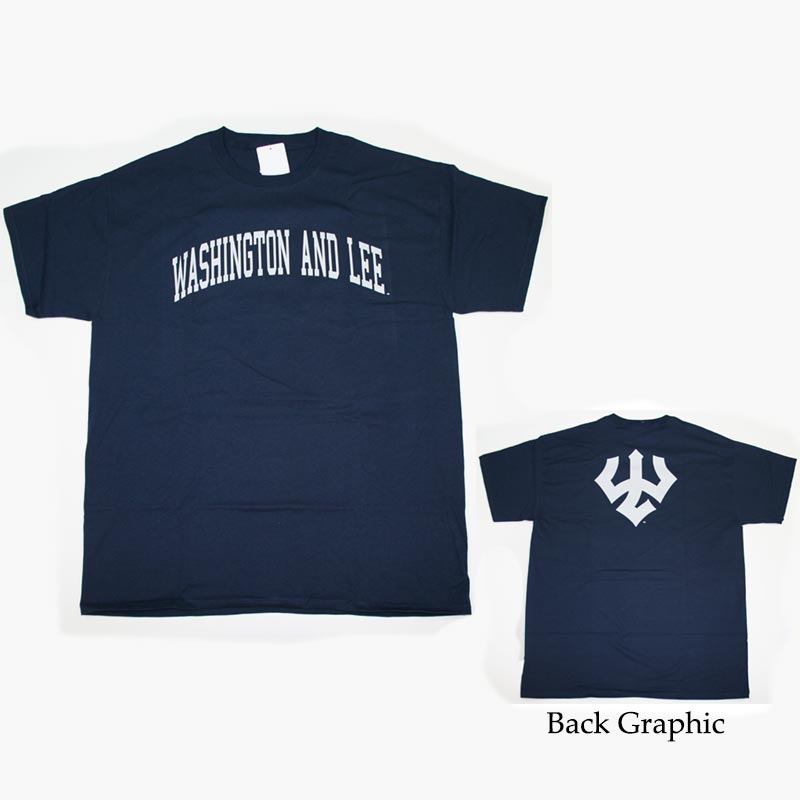 2X & 3X Big Back Trident Tee, Navy