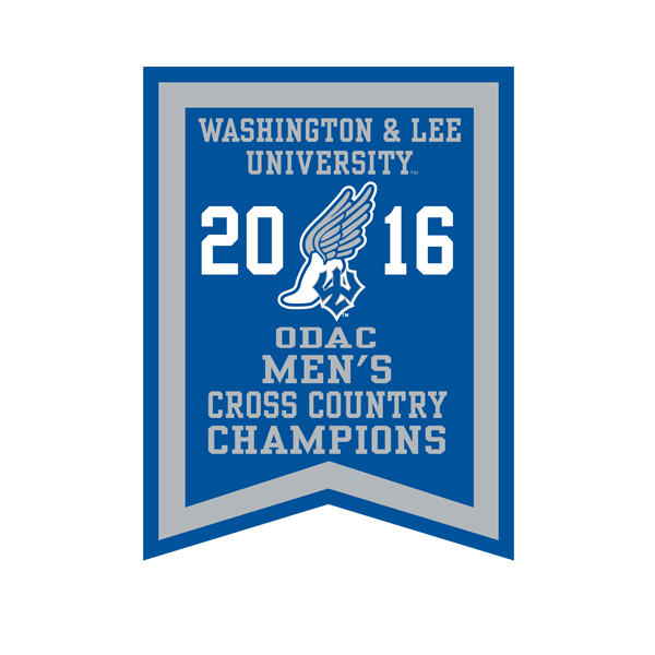 2016 ODAC Men's Cross Country Banner