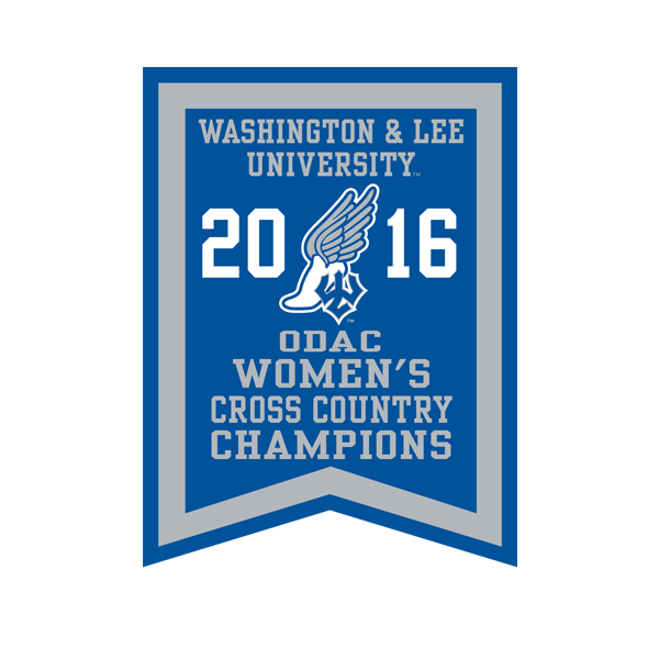 2016 ODAC Women's Cross Country Banner