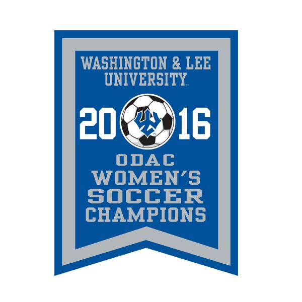 2016 ODAC Women's Soccer Banner