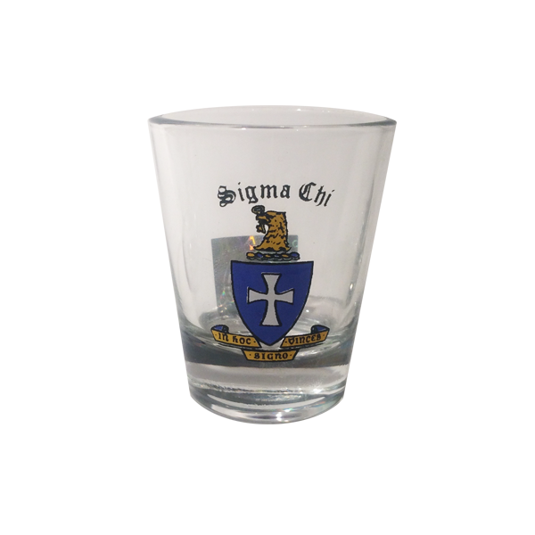 Sigma Chi Shotglass