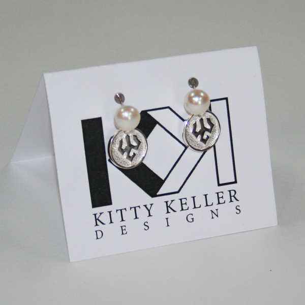 Kitty Keller Pearl Earrings