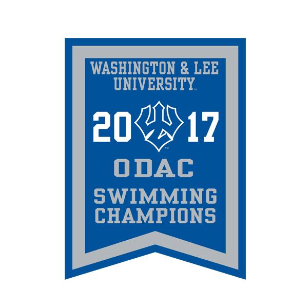 2017 ODAC Swimming Banner
