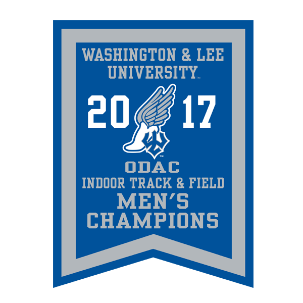 2017 Men's Indoor Track Banner