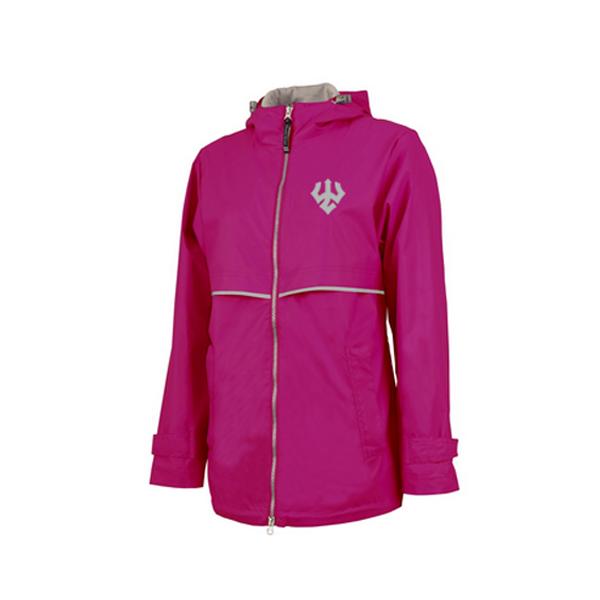 Charles River Rain Jacket, Pink
