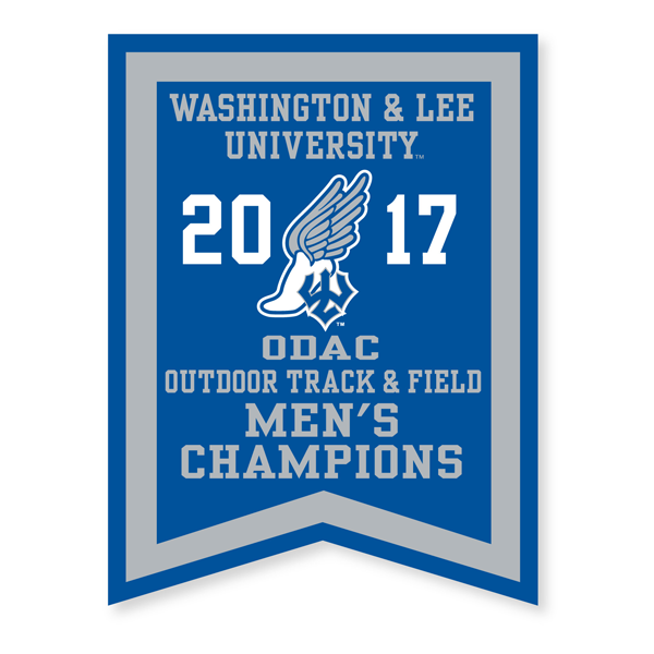 2017 Men's Outdoor Track Banner