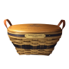 American Traditions Basket with Crest thumbnail