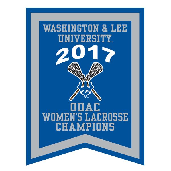 2017 ODAC Women's Laccrosse Banner