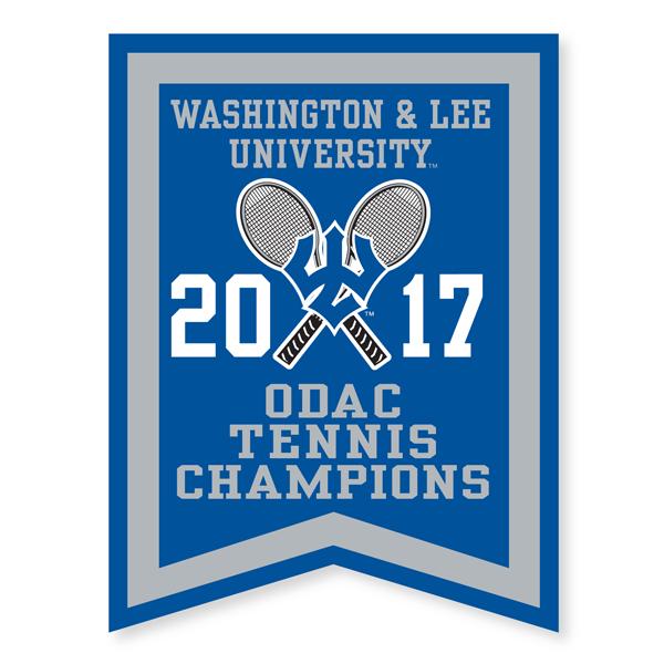 2017 ODAC Tennis Banner