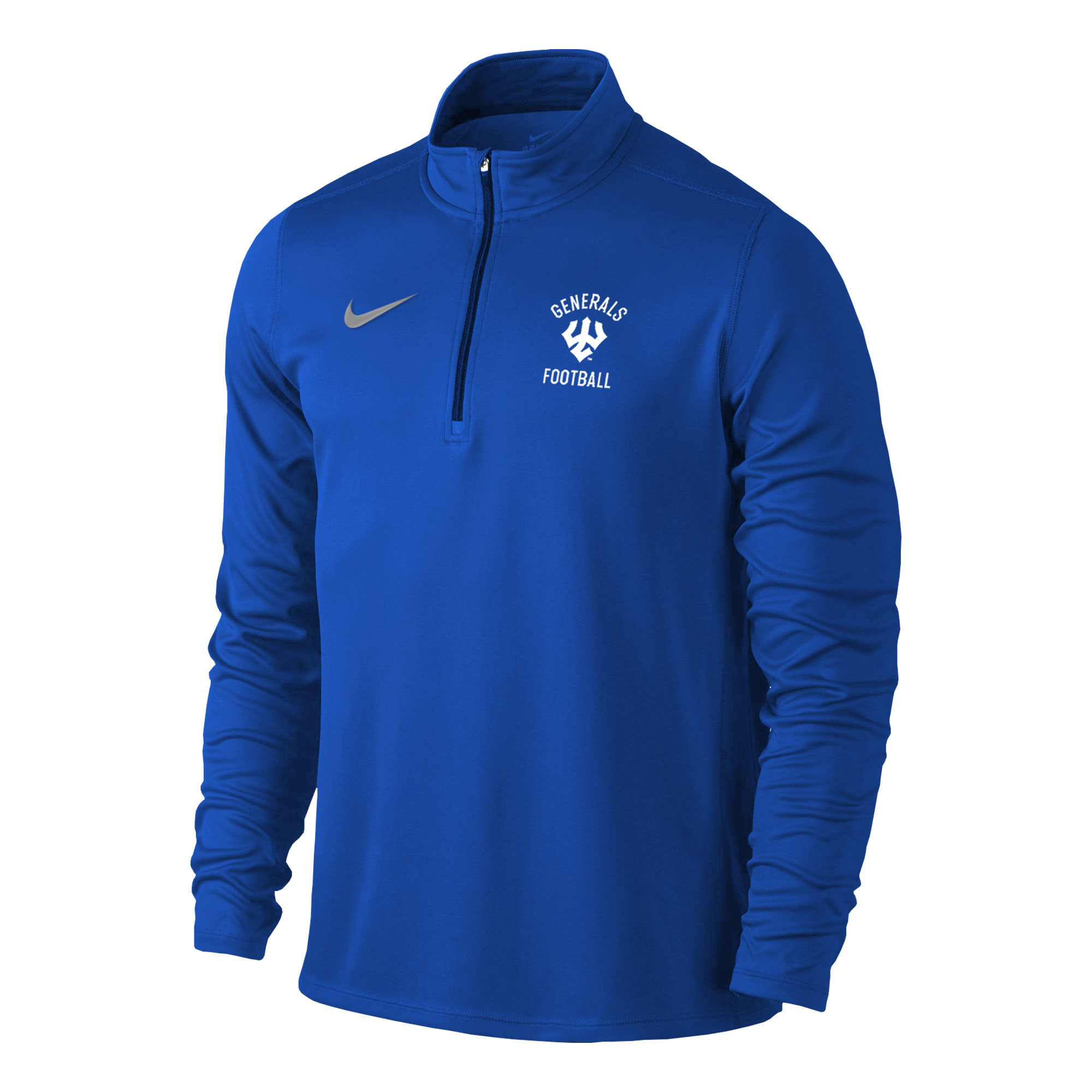 Nike Football Element 1/4 Zip, Royal